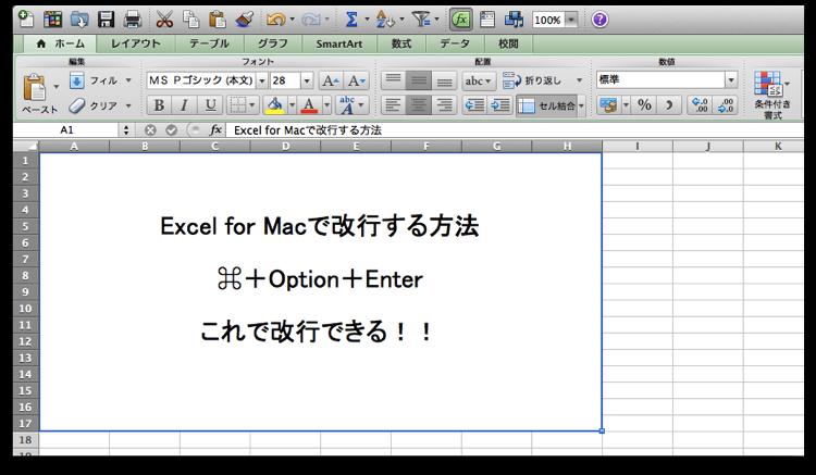 Mac Excel 3