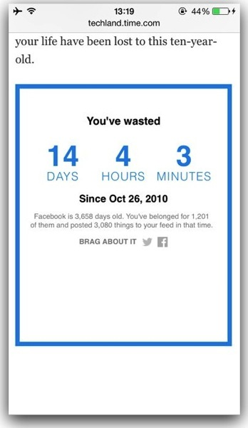 Facebook feed 5